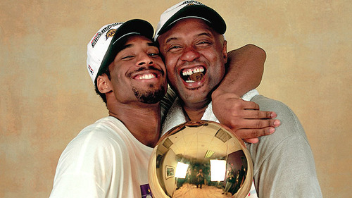 kobe bryant jaw. Kobe Bryant and his father,